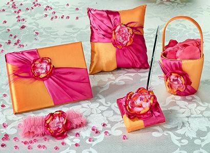 Hot Pink & Orange Set