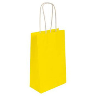 Yellow Kraft Bag