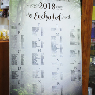 Enchanting Seating Chart