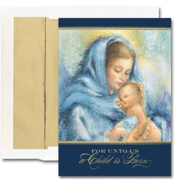 A Child Is Born - Madonna & Child