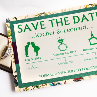 Save The Date - Rachel