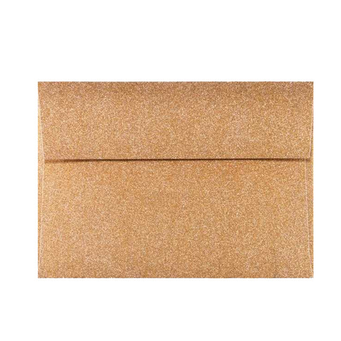 Rose Gold Mirri Sparkle A7 Envelope