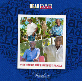 Happy Father's Day To The Men of The Lightfoot Family
