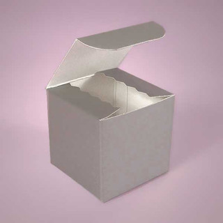 Silver Gloss Box