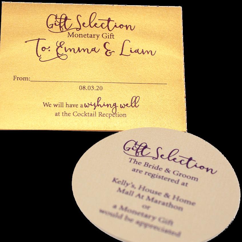 Monetary Envelope & Gift Card