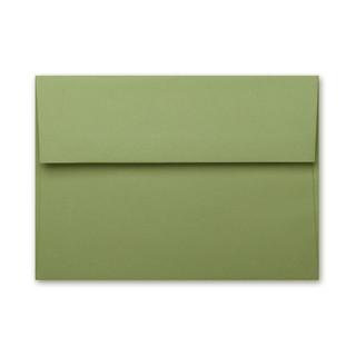 A7 Basis Olive Envelope
