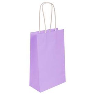 Lavender Kraft Bag