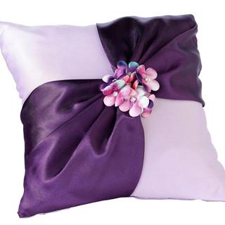 Radiant Flower Ring Pillow