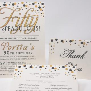 Glitter 50 & Fabulous