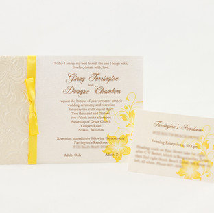 Ginay Invitation