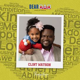 Happy Father's Day Clint Watson