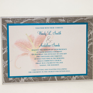 Wendy & Andy Invitation