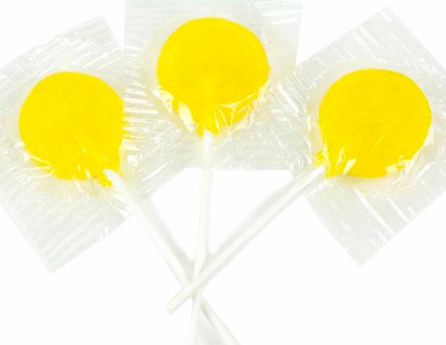 Lemon Lollipops