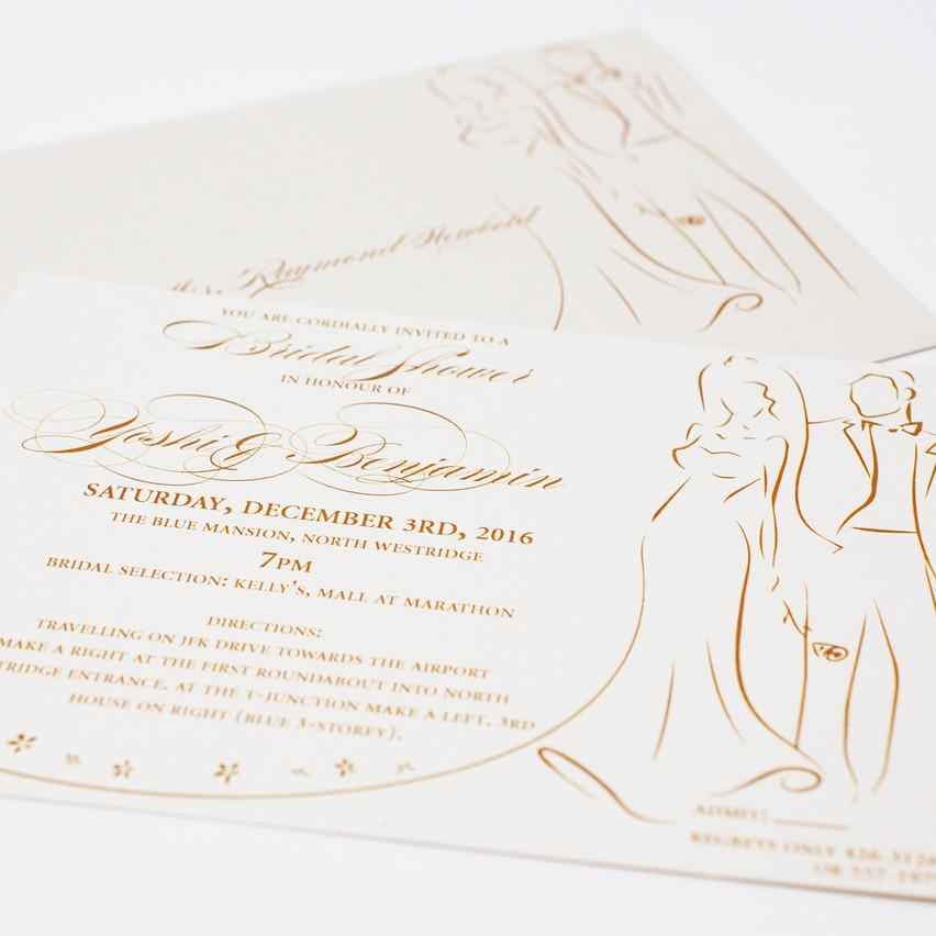 The Bridal Shower Invitation