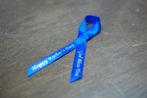 Pre-Printed Father's Day Ribbon