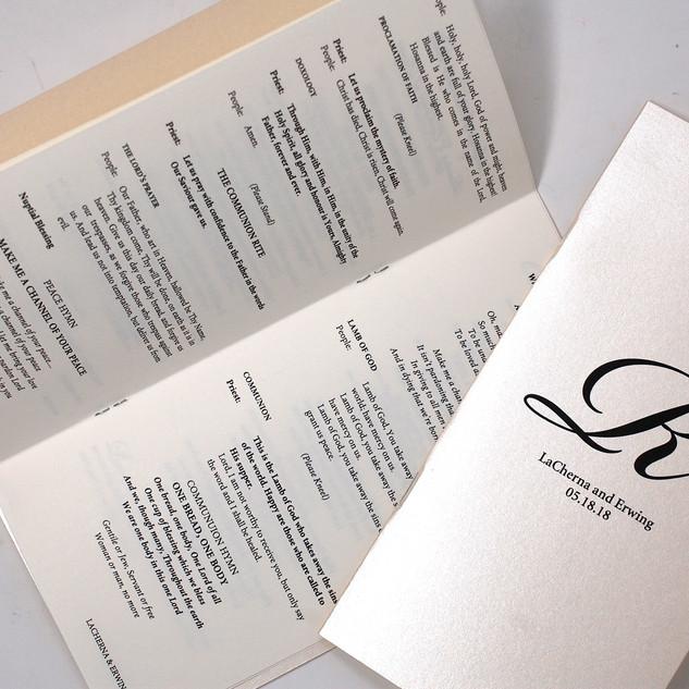Tea Length Booklet