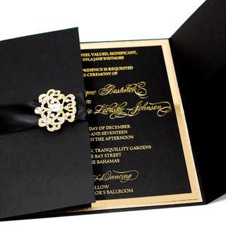 Black & Gold Gatefold