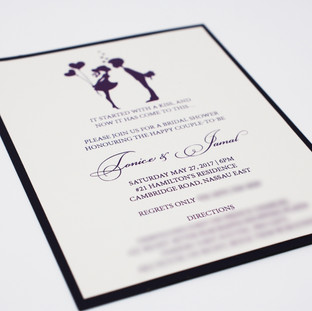 Tonice Bridal Shower Invite