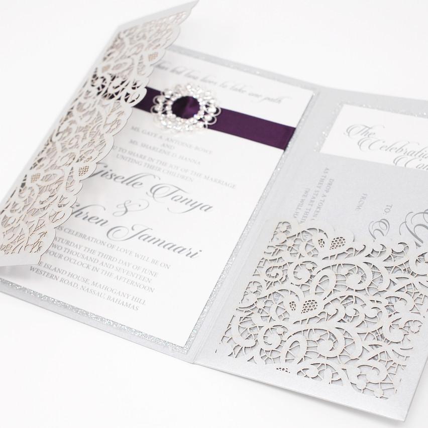 Lasercut Pocket Envelope