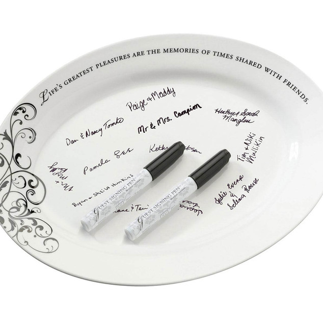 Guest Signing Plate