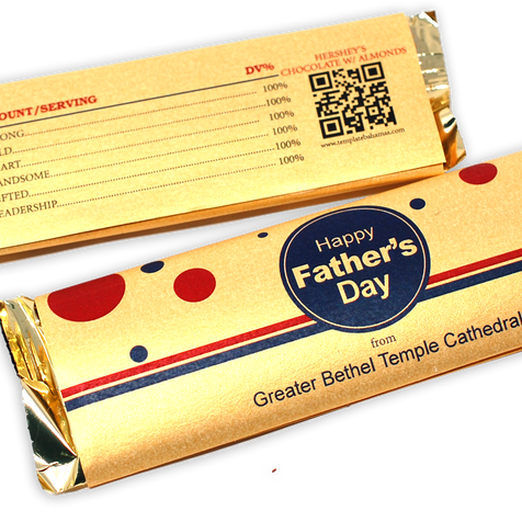 NEW - Personalized Chocolate Bars