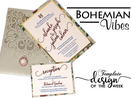 Design Of The Week - Bohemian Vibes | Islande & Julian