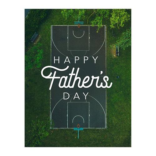 Big Balla Father's Day Card