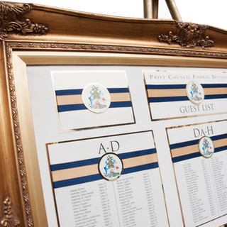 Stunning seating charts for more than just weddings.
