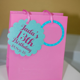 Pink Mini Shopper Bag