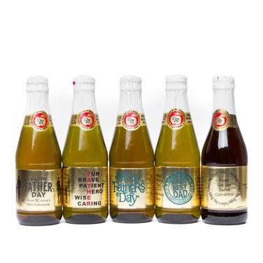 Personalized Mini Apple Ciders or Wineor Wine