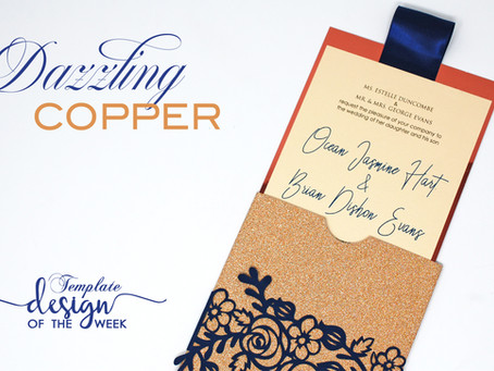 Design Of The Week - Dazzling Copper | Ocean & Brian