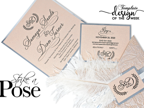 Design Of The Week - Strike A Pose | Samaya & Dion