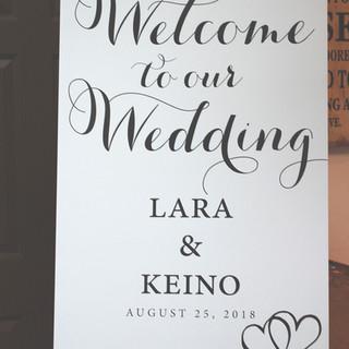 Lars & Keino Welcome