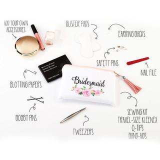 Bridesmaid Survival Kit Floral