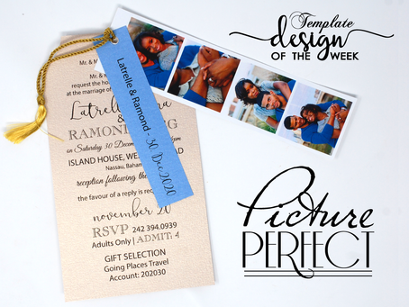 Design Of The Week - Picture Perfect | Latrelle & Ramond