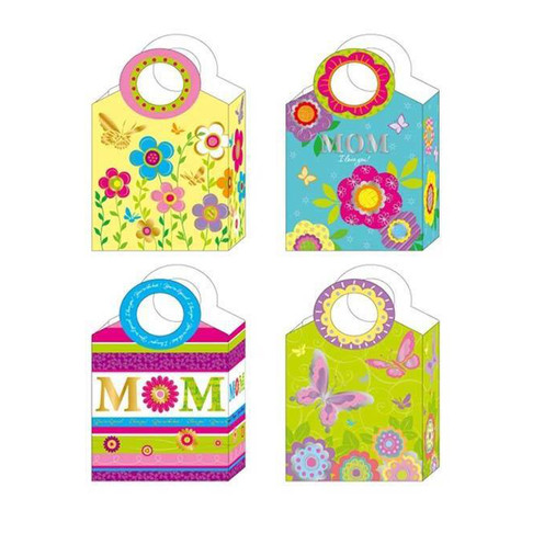 Hot Stamped Mom Gift Bags