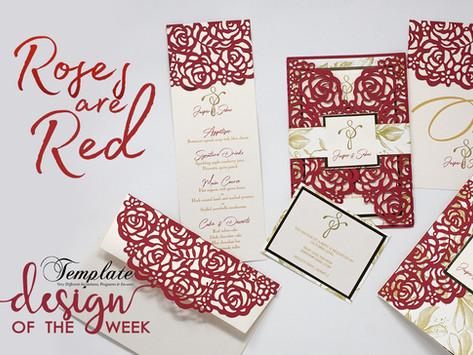 Design Of The Week - Roses are Red | Jasper & Sebastian