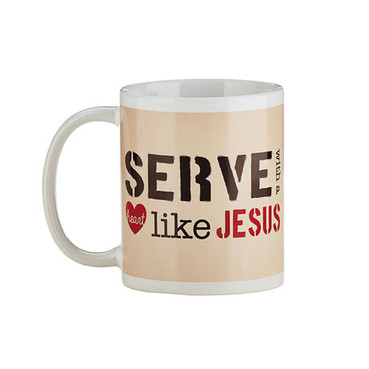 NEW - Serve with a Heart Like Jesus Mug