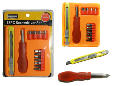 NEW - 13pc Scewdriver Set