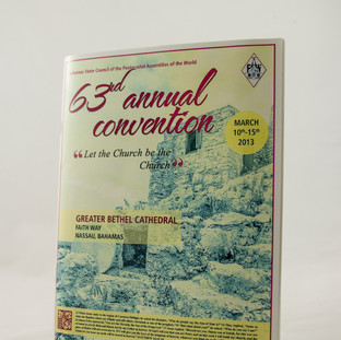 Convention Church Booklet