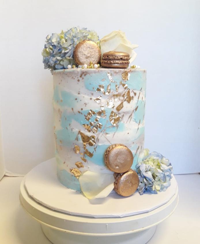 Delightful Wedding Cake