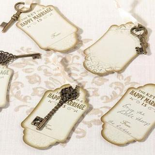 Vintage Bronze Key Tags