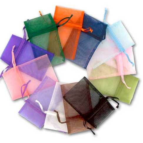 Organza Bags Collage