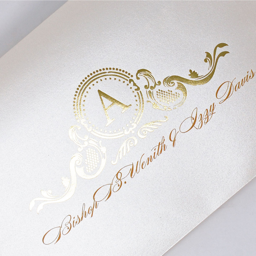 Gold Foil Printing Perfection