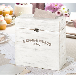 Rustic Wedding Wishes Gift Box