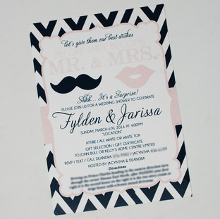 Jarissa Bridal Shower Invite