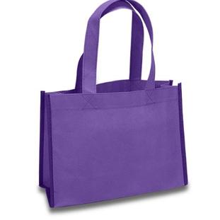 Purple Nonwoven Tote Bag
