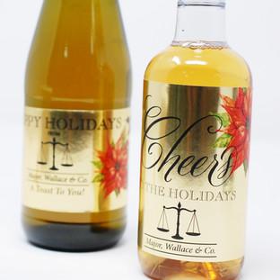 Gold Wine & Cider Labels