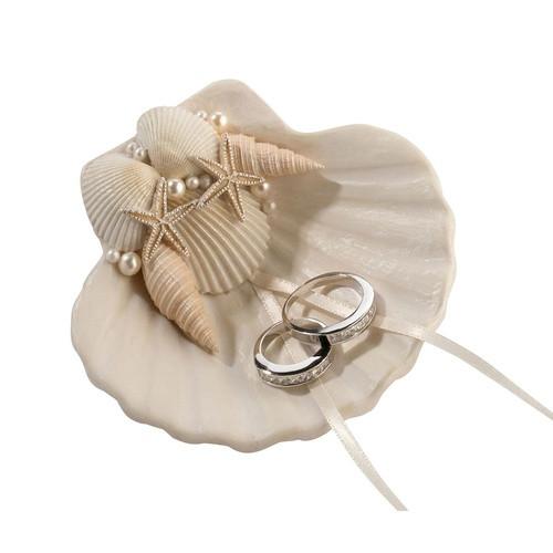 Coastal Seashell Ring Holder