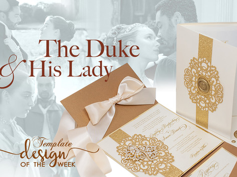 Design Of The Week - The Duke and His Lady | Daphne & Simon